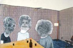 Vino entre amigos, Collage, Luichman