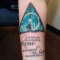 25 Harry Potter Tattoos That Make Harry's Lightning Scar Seem Like No Big Deal