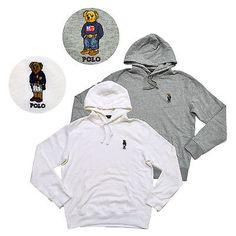 3d4d514c7ad Polo Ralph Lauren Bear Hoodie Mens Pullover Fleece Sweatshirt Limited  Edition