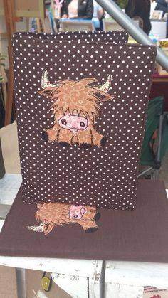 This is a wonderful little notebook!  A5 Highland Cow Notebook £21.50