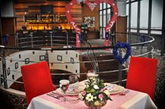 Valentine's Dinner 2014 at Sky Line #valentine #dinner #deco #decoration #red #lounge #hotel #5starhotel #travel Lounge, Semarang, 5 Star Hotels, Tower, Dinner, Decor, Airport Lounge, Dining, Drawing Rooms