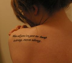 The Fray, I'm thinking this is the quote i'm going to get