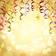 Fundo de celebração com flâmulas