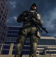 Delta Force Beard Call of Duty: Modern W...