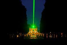 Orangerie Kassel mit dem documenta Laserscape http://blog.ks-fotografie.net/stagesharing/fotoausstellung-kassel-stagesharing/