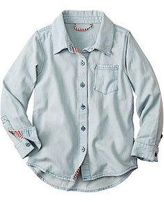 Superwashed Chambray Shirt by Hanna Andersson
