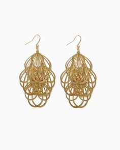 f80b50244 charming charlie   Teardrop Tinsel Earrings   UPC: 410006695283 # charmingcharlie Charm Jewelry, Dangle