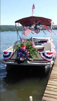 Pontoon Boat Parade Float Ideas for 4th of July/Patriotic ...