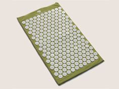 Green Sun Bed of Nails - forget a meditation pillow. This is like a meditation pillow 2.0. LOVE it.