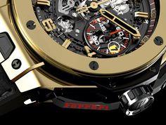 Hublot & Ferrari's The Big Bang Ferrari Watch Makes Public Debut in Japan