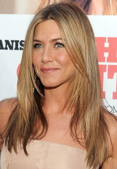 Jennifer Aniston Long Straight Hairstyle with Layers | Hairstyles Weekly