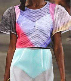 milly ss15, fashion, style, tie dye top #sportfashion #ranitasobanska