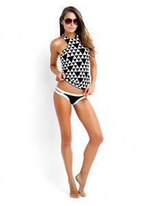 New Summer Sweet Girl High Neck Bikini Women Sexy Print Two Piece Swimsuit Brazilian Triangular Bandage Swimwear Biquinis