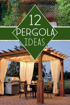 Build your own pergola with these great tutorials!