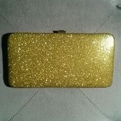 Gold Wallet Or Clutch - Sassy And Fun