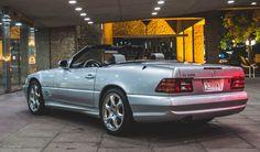 A Childhood Dream Realized: My 2002 Mercedes-Benz Silver Arrow Edition Mercedes Sl500, Mercedes Benz Cars, Mercedes Convertible, Lux Cars, Dream Cars, Jeep, Childhood, Saudi Arabia, Arrows