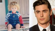 """Zac Efron-------He was probably such a charmer in """"Preschool Musical."""""""