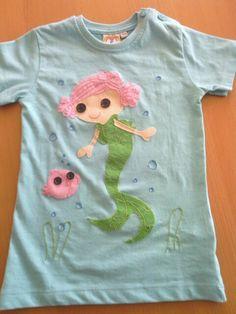 Otra camiseta lalapoosy para mi niña.