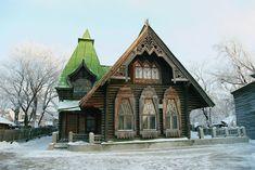 The mansion of merchant S. Bakonin, Ulyanovsk city (old name Simbirsk), Radishchev str., 4.