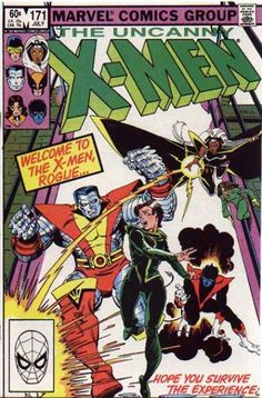 Rogue joins The X-Men. Cover art: Walt Simonson.  Part of Chapter 20.
