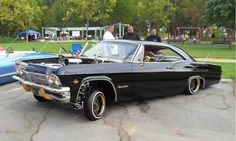 Chevy impala..black on black
