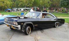 Chevy impala..black on black