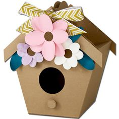 JMRush Designs: Bird House Treat Box
