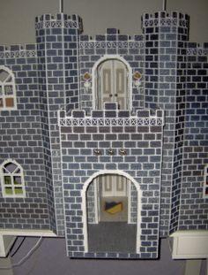 Fashion doll Dream Castle Plastic Canvas 2013 , castle entrance