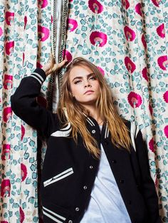 Cara Delevingne by Bryan Derballa for New York Times July 2015.