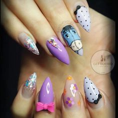 awesome Get Buffed Nails...