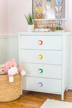 Why secondhand dressers are not always the best solution + top picks from the Flower Kids home decor line from Walmart. #kidsrooms #homedecor