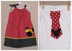 Disney Brother Sister Set Baby Toddler Girl Boy by LilLaineyBug