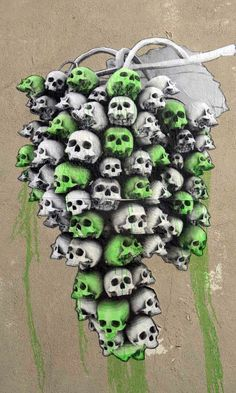 By Ludo. In Paris, France. Skull Gallery short list. Sutton Graphics design short list.