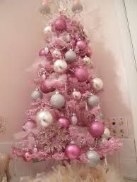 Image result for pink decorations for christmas tree