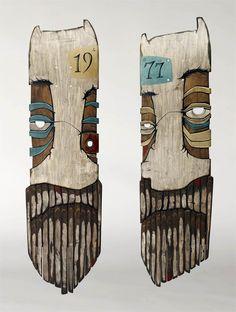 Hand carved/crafted skate decks.  http://www.goodeugene.com