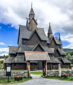 "A stave church is a wooden church where the construction is made out of poles. Poles mean ""staver"" in Norwegian, hence the name. Some of the most beautiful stave churches are decorated …"