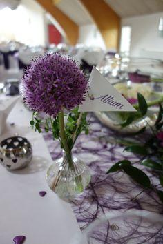 Noms de table mariage Sophie & Mathieu