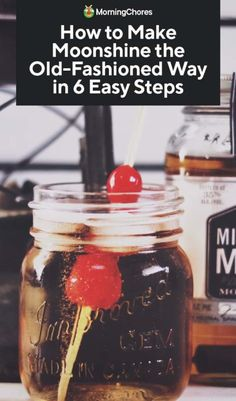 If you are curious about how to make moonshine, we provide a guide for educational purposes. It is a technical process but we'll take you through the steps. Moonshine Mash Recipe, Moonshine Drink Recipes, Homemade Moonshine, Moonshine Cocktails, Moonshine Whiskey, How To Make Moonshine, Apple Pie Moonshine, Whiskey Recipes, Homebrew Recipes