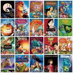 1937-1970 Disney movies in order of release. | Disney Fan ...