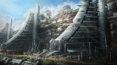 """Michael Lam's """"Cliff Expansion"""""""