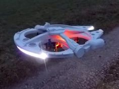 """Millennium Falcon drone is the coolest hunk of junk in our galaxy 