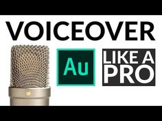 Make Your Voice Over Sound Professional Beau Film, Stop Motion Photography, Video Photography, Audio Post Production, Adobe After Effects Tutorials, Film Tips, Adobe Audition, Recording Studio Home, Voice Acting