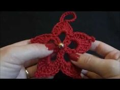 Flor Natal Enfeite de Arvore - YouTube