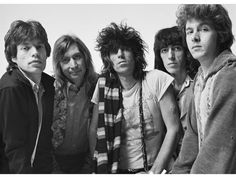 Mick Jagger, Charlie Watts, Keith Richards, Bill Wyman, Mick Taylor