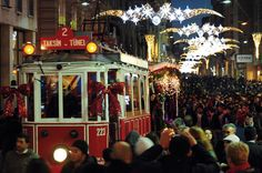 The New Year's celebrations in Istanbul seem to grow every year.