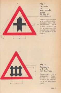 Signs of the Autostrada