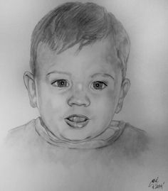 Retrato a lápiz. #Drawing #PencilDrawings #Portrait
