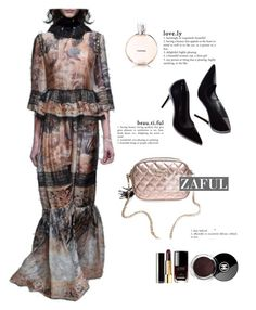 """""""zaful"""" by elly-852 ❤ liked on Polyvore featuring Mode und Chanel"""