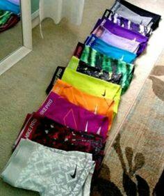 Nike pro shorts!