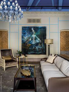 Дизайн квартиры в Москве – фото интерьера | AD Magazine